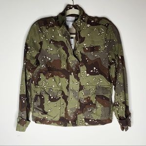 BETTER BE camo jacket. Size S